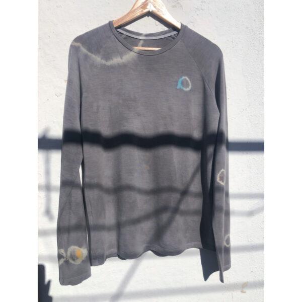 Organic merino wool t-shirt 128